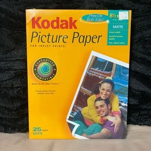 Bundle of 6 photo paper
